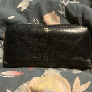 Authentic Leather Fossil Wallet